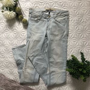 Zara Light Wash Slim Jeans